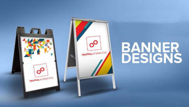 Một số dự án thiết kế banner tiêu biểu.