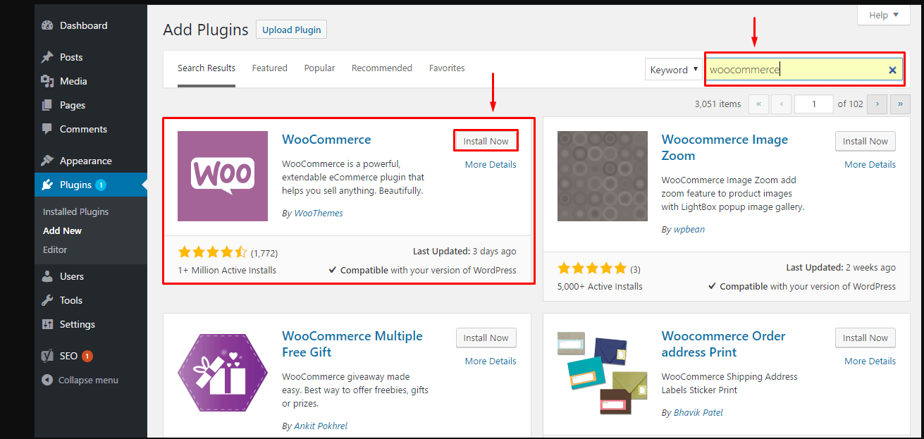 Nhiều plugin hỗ trợ marketing