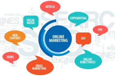 Các công cụ marketing online.