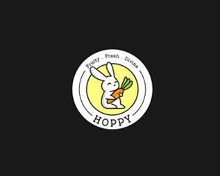 Logo của thương hiệu Hoppy Juice