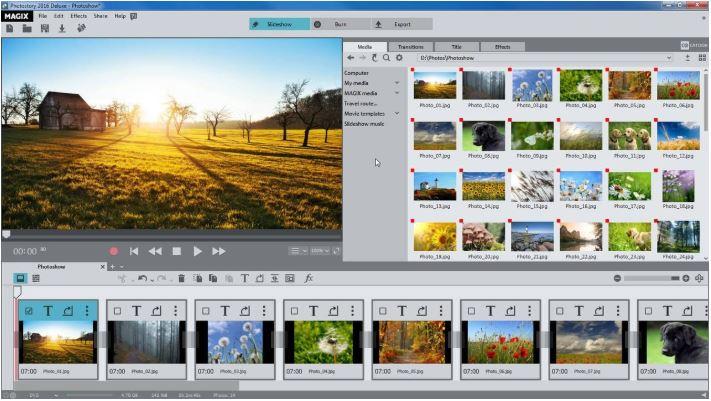 Magix Photostory Easy.