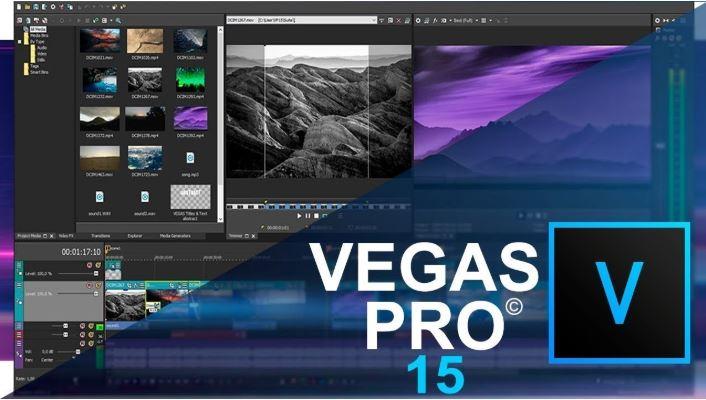 Sony Vegas Pro.
