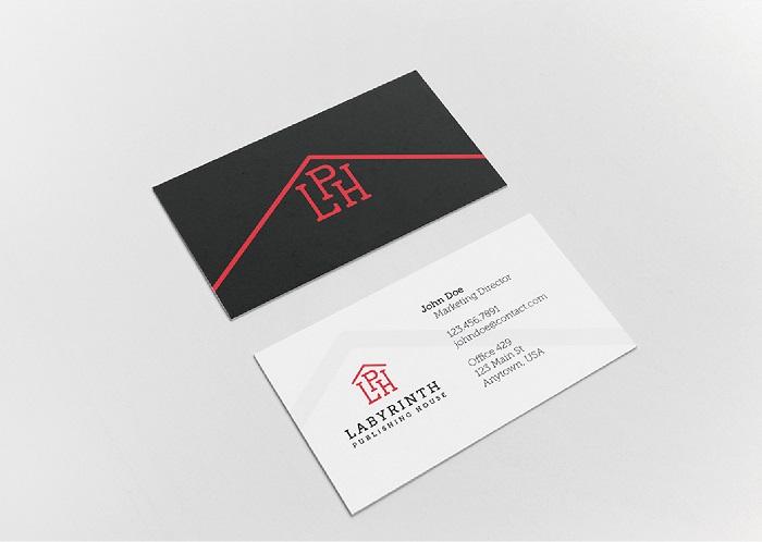 thiết kế danh thiếp