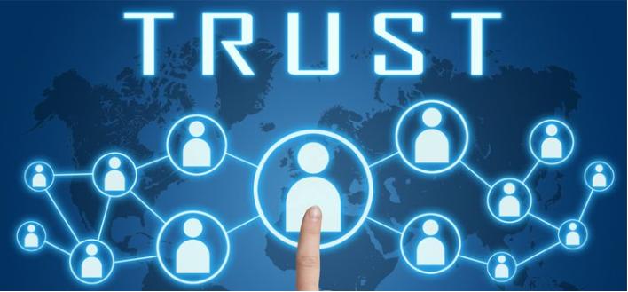 Tạo dựng niềm tin với khách hàng.