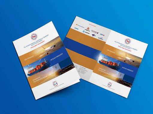 Brochure dịch vụ vận tải