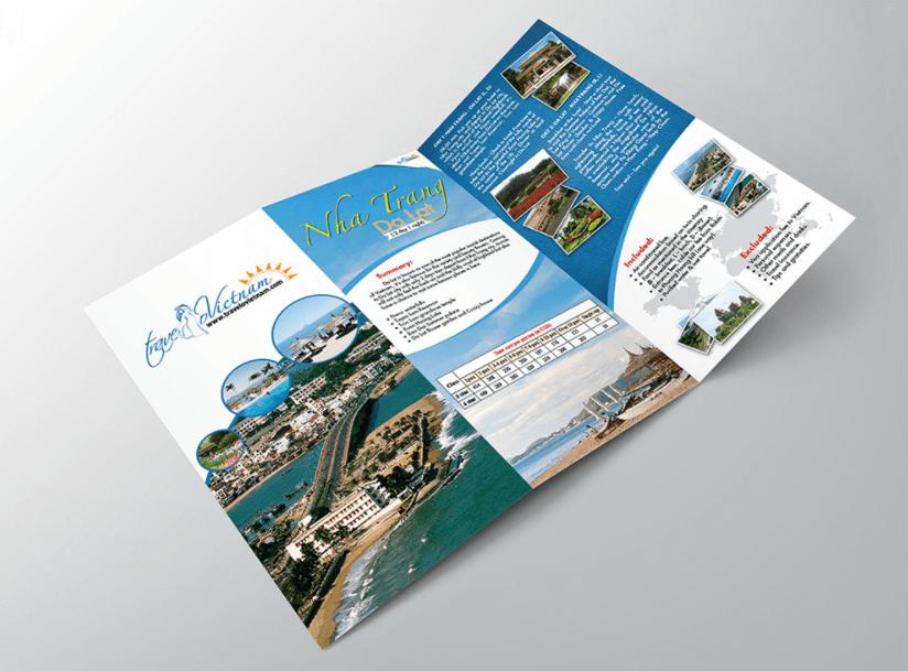 Brochure du lịch, khách sạn