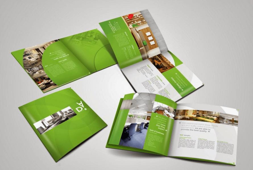 Brochure quảng cáo sản phẩm