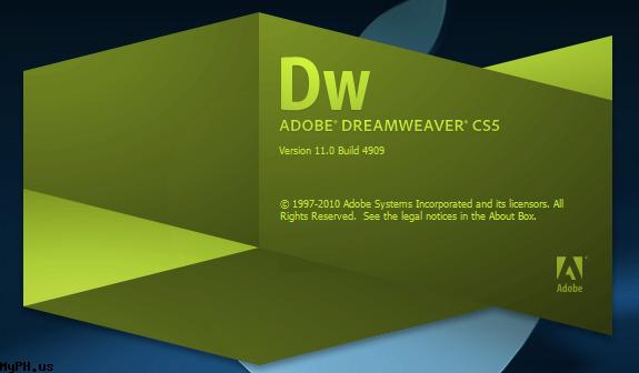 Phần mềm thiết kế website Dream Weaver