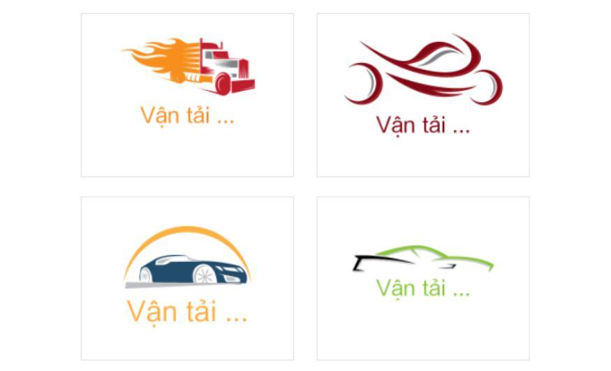 Màu sắc của logo vận tải