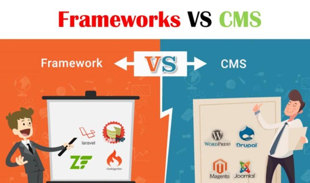Framework là gì? Sự khác nhau giữa CMS và Framework là gì?