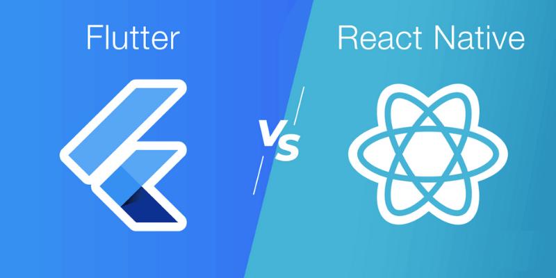 so sánh flutter vs react native